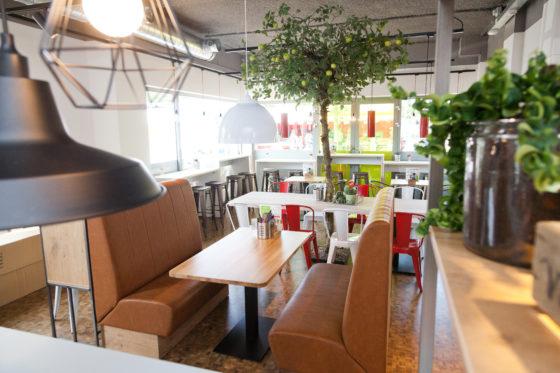 Met verschillende soorten zitplaatsen is er voor ieder wat wils. Foto: Jawsmedia