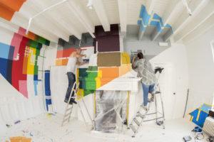Sterchef Servais Tielman enorm trots op werk graffitikunstenaars in Cucina del Mondo