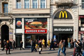 Battle tussen Burger King en McDonald's blijft spannend