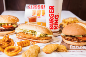Deliveroo Burger King
