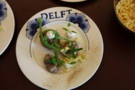 Studenten Dutch Cuisine koksopleiding verrassen met 'blote billen gerecht'