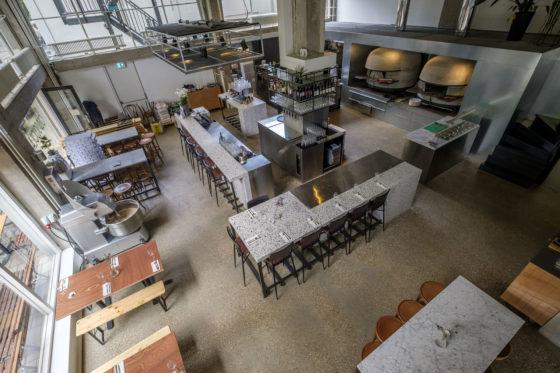 (C) Roel Dijkstra Fotografie / Foto : Fred LibochantRotterdam /  Old Scuola pizza