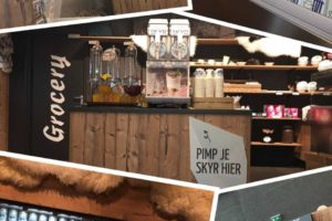 Skyr pop-up store op Hogeschool Saxion in Deventer
