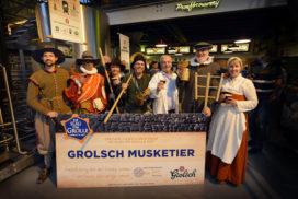 Grolsch brouwt Musketier voor Slag om Grolle