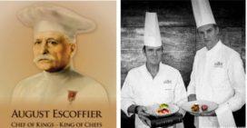 Escoffier: chefs Bilderberg eren hem in The Park by Erik van Loo