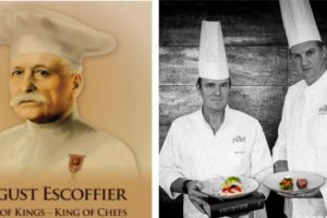 Escoffier: chefs Bilderberg eren hem in The Park by Erik van Loo