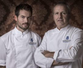 Gilbert von Berg neemt stokje over van Hans Snijders bij Restaurant Château Neercanne*
