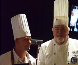 Sebastiaan Veenhuizen wint 'Het Glazen Kalf' op Folie Culinaire