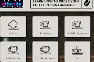 'Gebarentaal-koffiebar' opent in Amsterdam