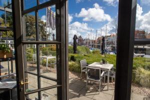 VFN#3619 Sfeerimpressie van restaurant De Werf in Veere van de gebroeders Paul en Bart Melis