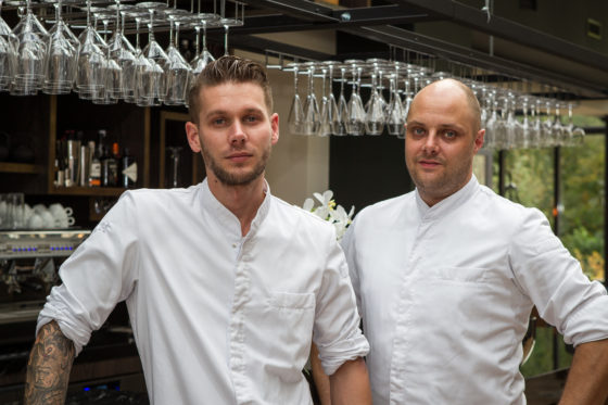 VFN#3780 Chef koks Jeroen Tanis (32/L) en Sander de Jonge (35/R)