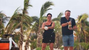 Jonnie Boer en Thérèse Boer op Bonaire