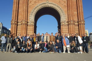 Cafetariahouders FHC Formulebeheer ontdekken Barcelona