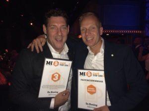 Daan Touw (l) en Remco de Boer