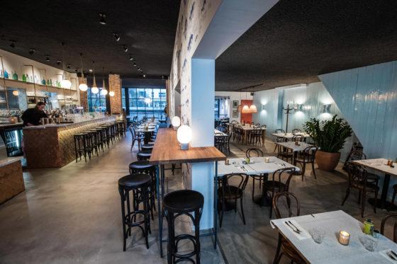 AMSTERDAM - Restaurant Bijvangst. FOTO: DIEDERIK VAN DER LAAN