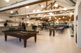 Horecainterieur: restaurant Entrepot in Amsterdam