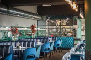 Horecainterieur: visrestaurant Langoest Rotterdam