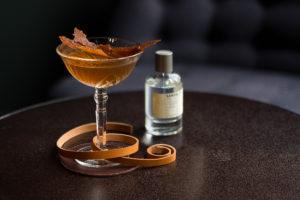 Drie recepten van cocktails op basis van geuren