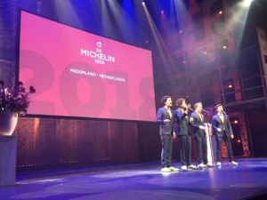 Michelinsterren 2018