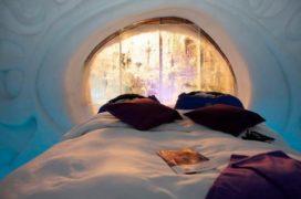 Bilderberg Grand Hotel Wientjes opent IJshotel in Zwolle: overnachten bij -10