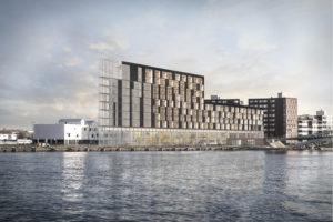 Nieuwe duurzame hotels in aanbouw