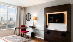inrichting van hotelkamers