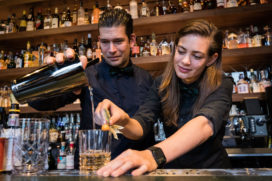 Flying Dutchmen Cocktails: de droom van Tess en Timo