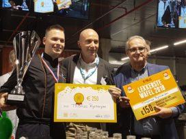 Thomas Rijsbergen wint wedstrijd Lekkerste Wafel
