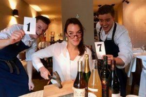 'Kleinste wijnveiling van Europa' in restaurant Vesters