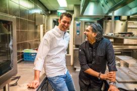 Soenil Bahadoer en Takis Panagakis: 'afkomst in opkomst'-diner