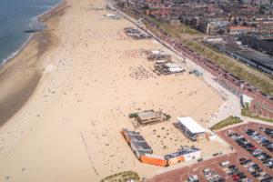 Van der Linde Catering verantwoordelijk voor foodconcept The Hague Beach Stadium