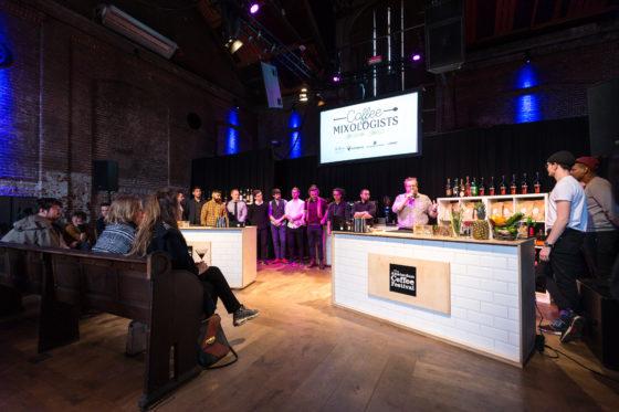 AMSTERDAM, 10 Maart 2018: Het Amsterdams Coffee Festival 2018, met de finale van het Nederlands Barista Kampioenschap. © SEBASTIAAN ROZENDAAL