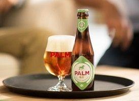 Palm 0.0 bevestigt gestage opmars alcoholvrij bier