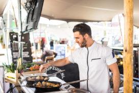 Chefs van Rotterdam Zuid koken op festival Tafel op Zuid