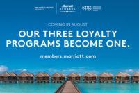 Marriott voegt drie loyaliteitsprogramma&#8217</strong><br>s samen