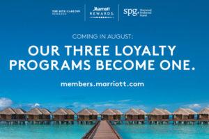 Marriott voegt drie loyaliteitsprogramma's samen