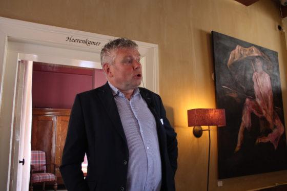 Dan is het woord aan Ruud van Bussel, eigenaar van De Gouden Leeuw, om de aanwezigen welkom te heten en te vertellen over zijn zaak.